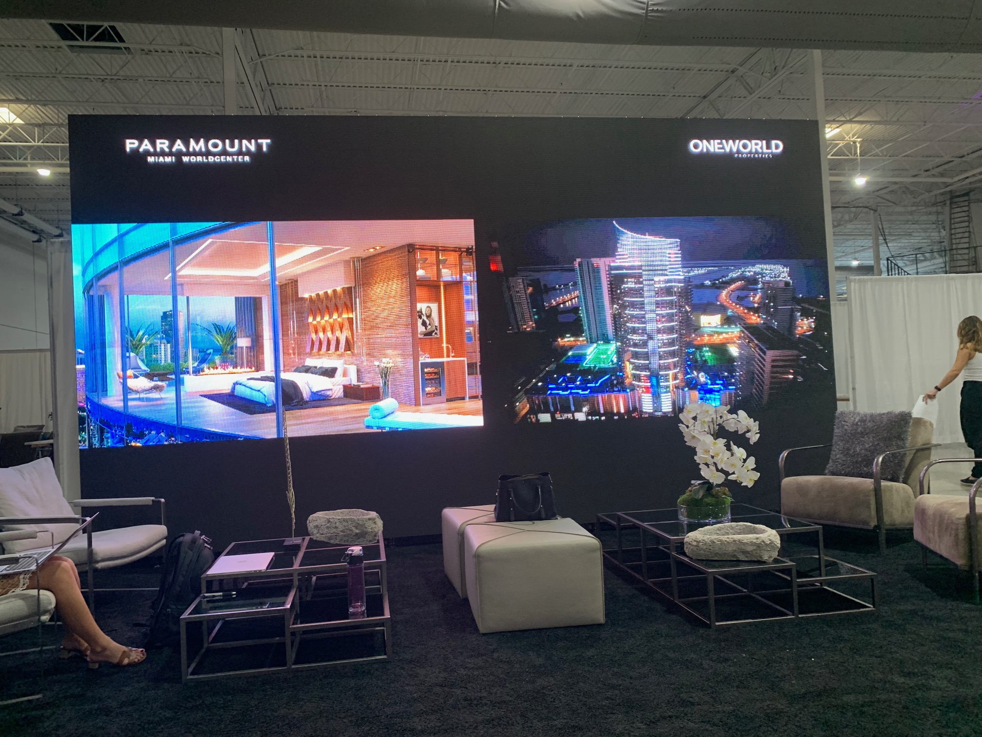 OneWorld Properties displays wall of projects at The Real Deal South